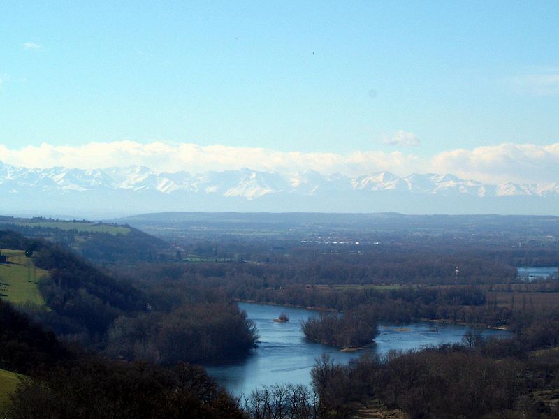 Notre Vue Sur La Garonne